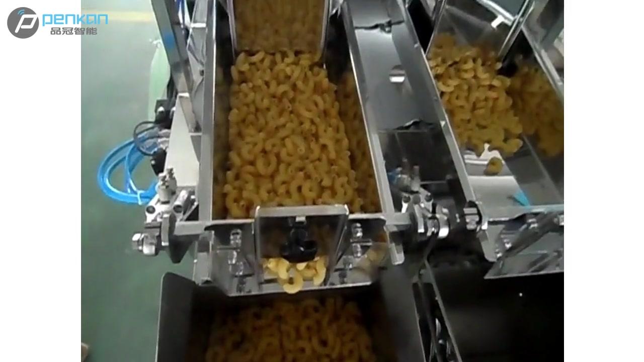 Fabricantes de máquinas de empacotadores de pesagem automática de pesagem automática