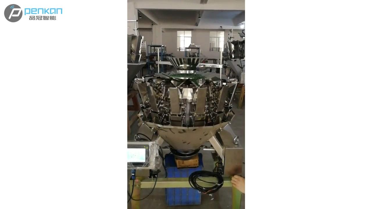 تعبئة ملء آلة وزنها مقياس دقيق مواد الملح التلقائي مزيج وزنها آلة وزن متعدد الشعر