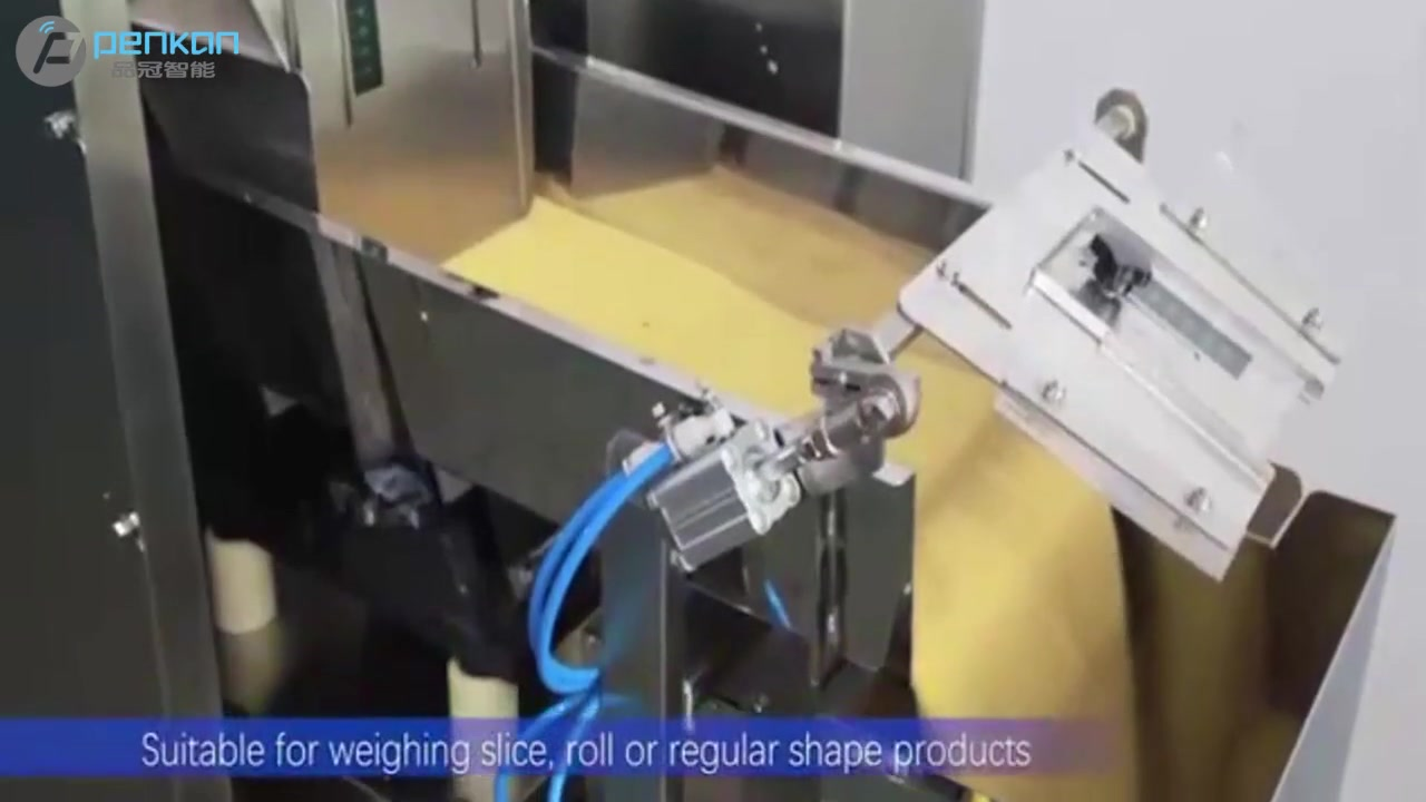 factory price electronic automatic weighing 1 head 15L linear weigher machine