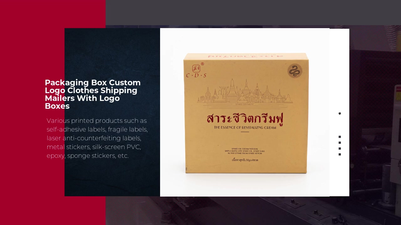 Packaging Box Custom Logo Clothes Shipping Mailers With Logo Boxes