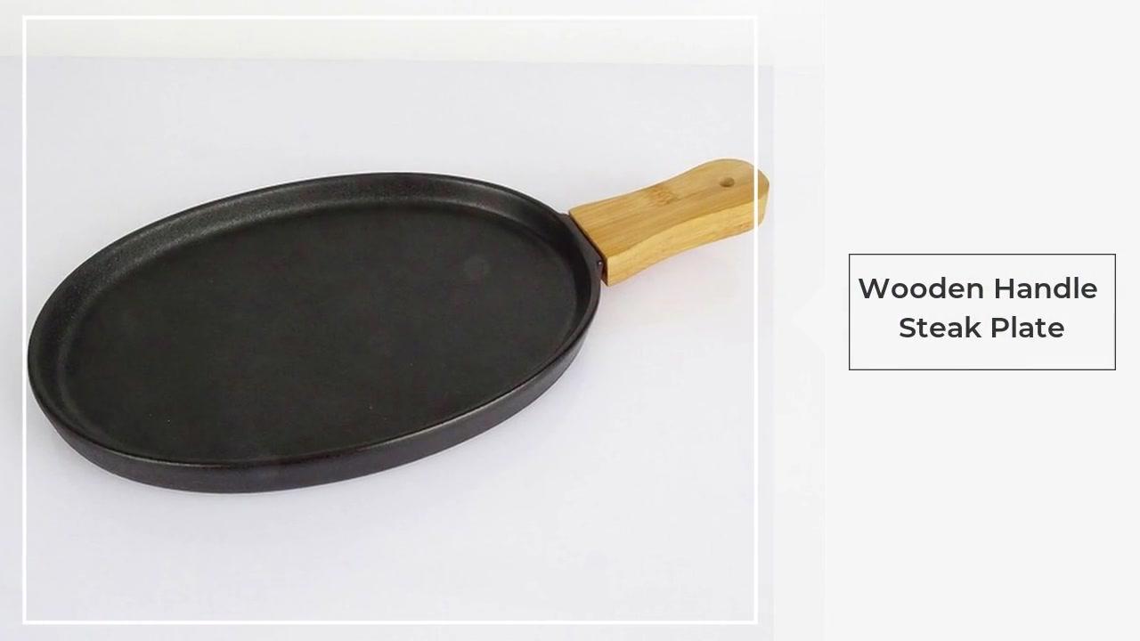 개인화 된 나무 접시 크리 에이 티브 세라믹 웨스턴 플레이트 스테이크 접시