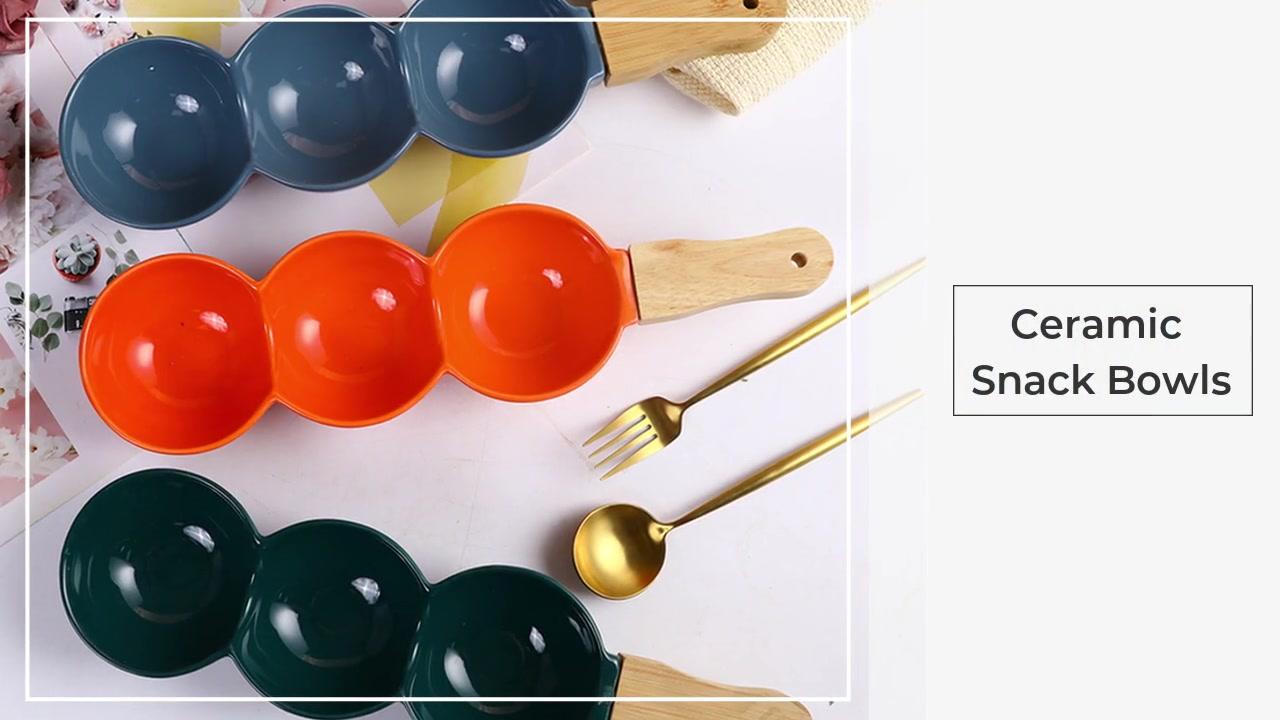 Un ensemble de 3 bols en céramique pour la vaisselle grossiste