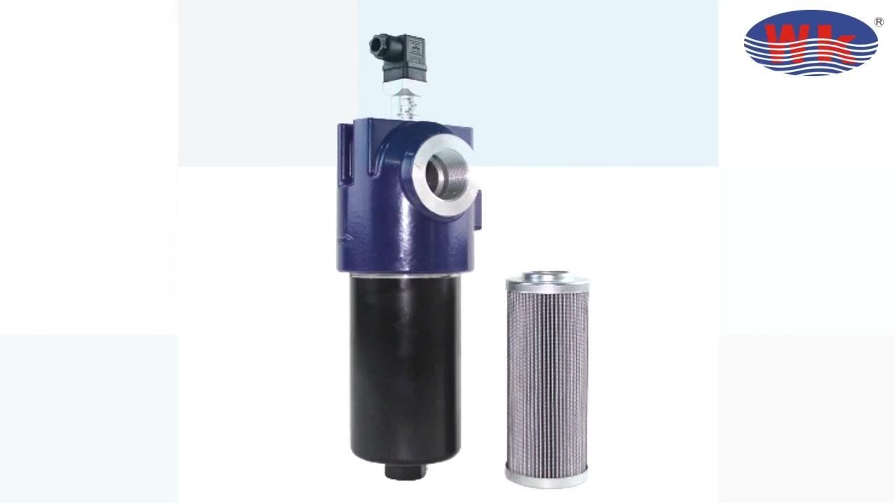 Filtro de aceite hidráulico de referencia cruzada de venta caliente LF240