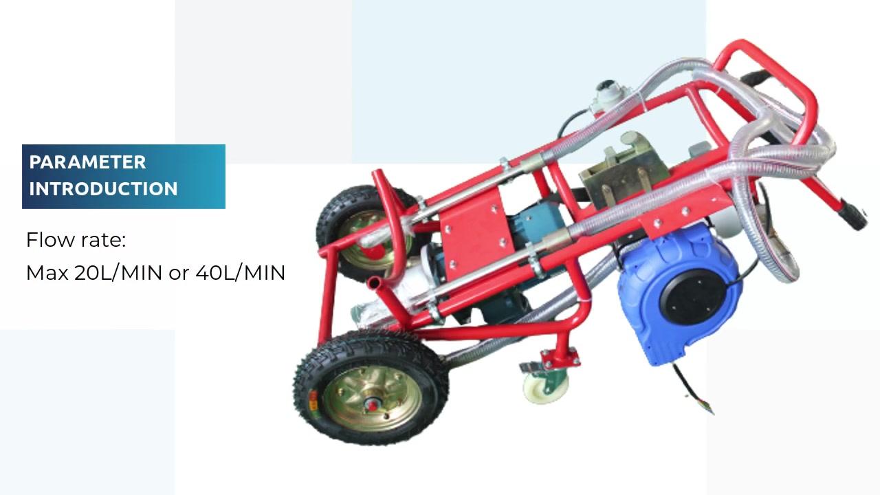 OEM Factory Vysoká účinnost filtrační vozík W24B03