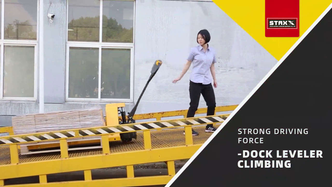 Lithium Ion Battery Standard Pallet Truck Wide Application