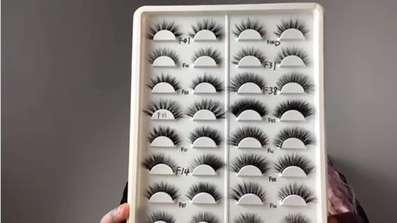 Wholesale best quality 3D mink eyelashes Supplier-Gorgeous Eyelashes Ltd.