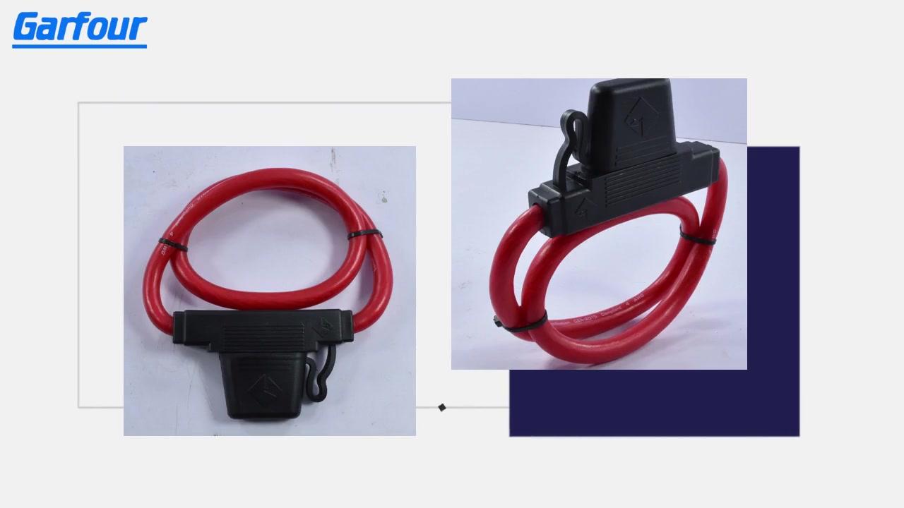 Bästa 4WAWG bil Auto Standard Line Embedded Safety säkringshållare leverantör