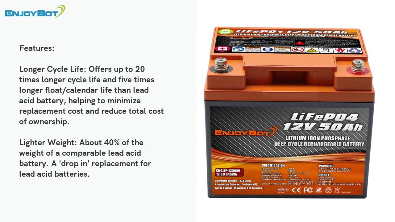 Porcellana Alta qualità 12V 50ah Lifepo4 Batteria / ODM- Greengy Fornitore Prezzo di fabbrica - Produttori - Batteria Grenengy