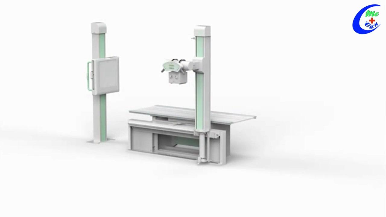 Hoë Kwaliteit 50kW 500ma Digitale Radiografie Stelsel Digitale X-Ray Machine Wholesale-Guangzhou Mecan Mediese Beperk