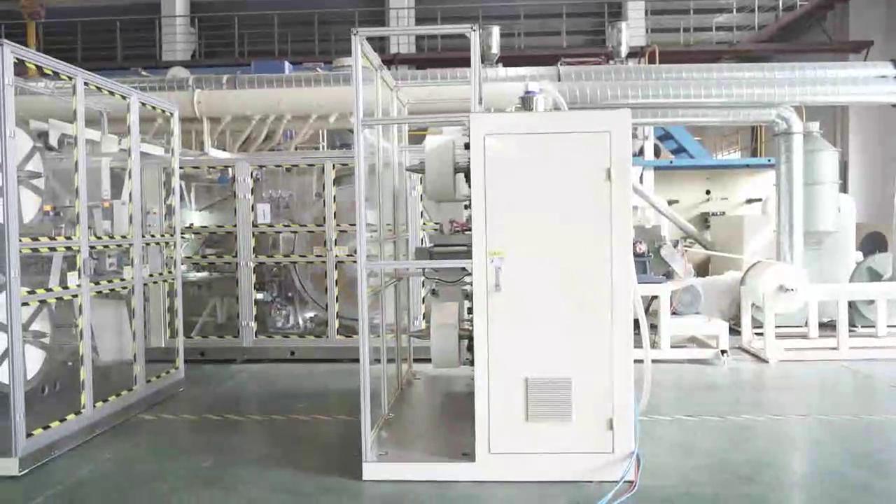 Machine à serviettes hygiéniques C0161 pour client en Corée