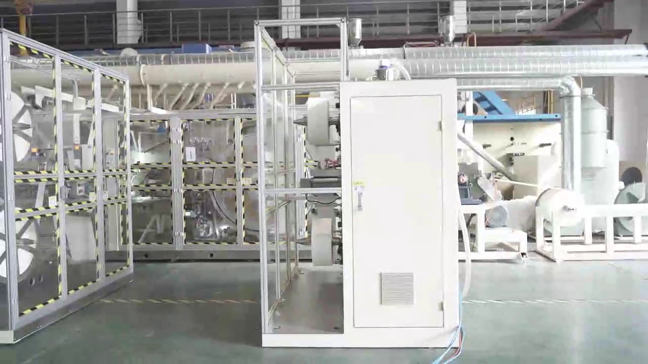 Машина для прокладки гигиенических салфеток C0161 для клиента из Кореи