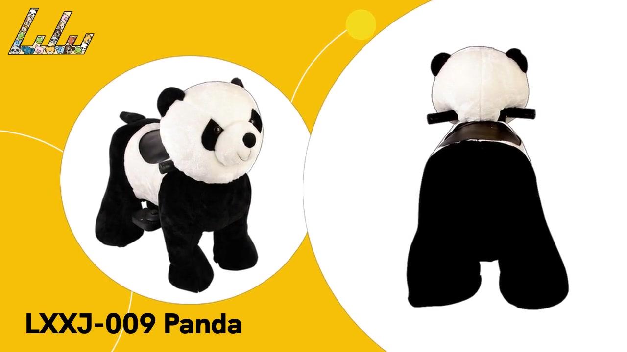 LXXJ-009 Promenades d'animaux Panda