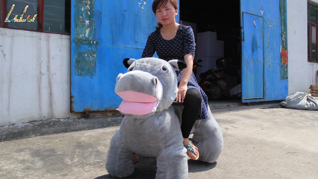 children battery operated animal rides supplier