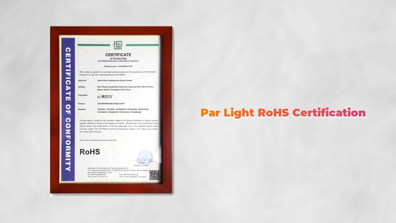 Certificat de produit