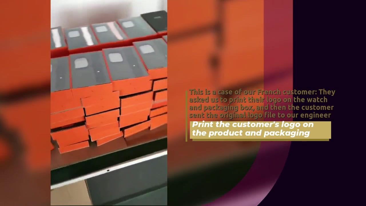 Imprima el logotipo del cliente en el producto y embalaje.