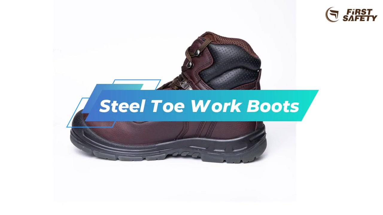 Work Safety Boots For Men With Steel Toe 520S