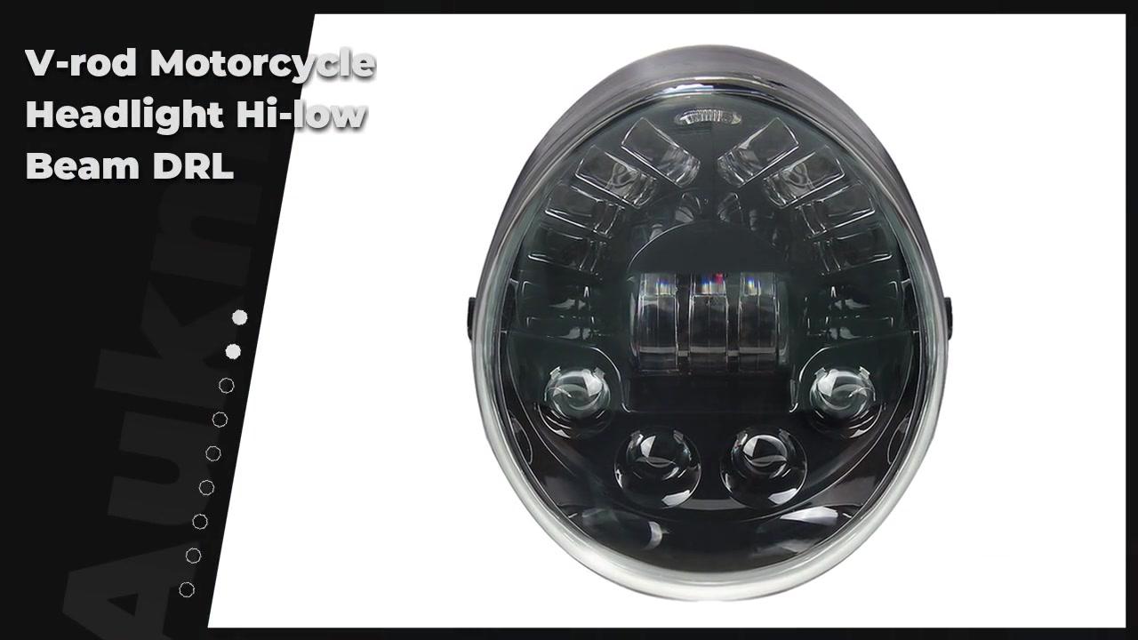 V-rod Motorcycle Headlight Hi-low Beam DRL For VRSCA VRSCB VRSCAW Projector
