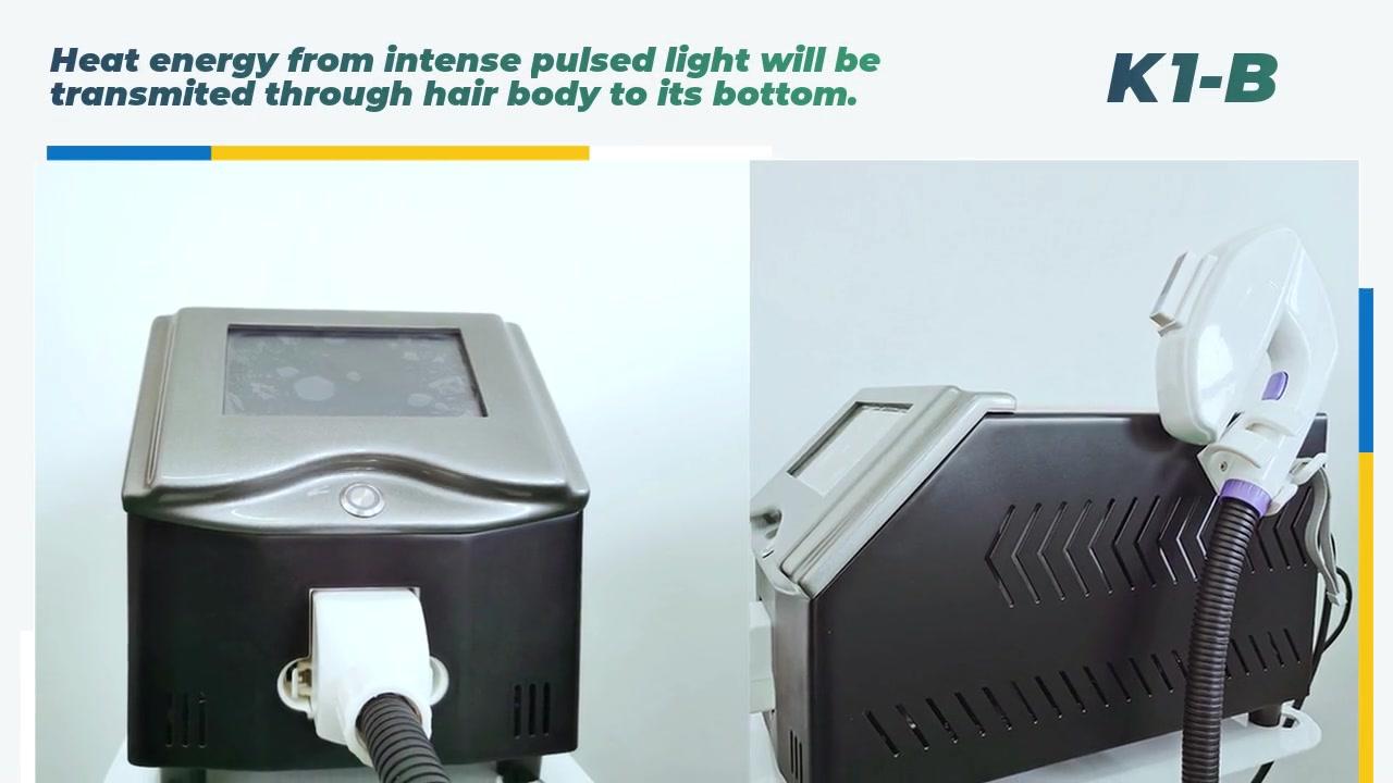 Professionelle IPL-Haarentfernungsmaschine K1-B-Hersteller