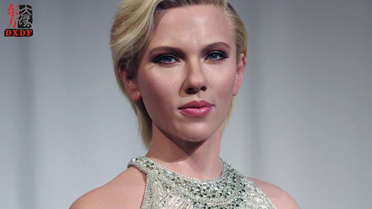 Figura di cera della dimensione della vita super realistica per Scarlett Johansson