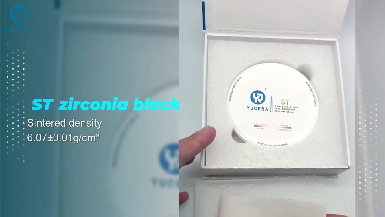 Hohe Festigkeit 98 St. Dental Zirkonia Porzellan Falsche Zähne für Dentallabor für CAD / CAM zu anderen Geräten in St. Zirkonia