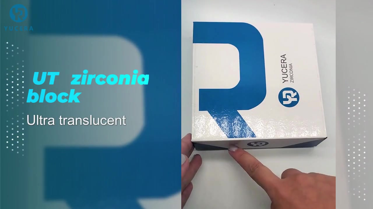 98mm Ut Zirconia блокове за предната за стоматологична лаборатория с отворена система