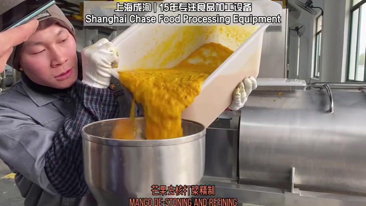 Destoner de manga e pulverista