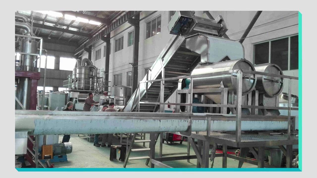 Uganda mango pulp production line