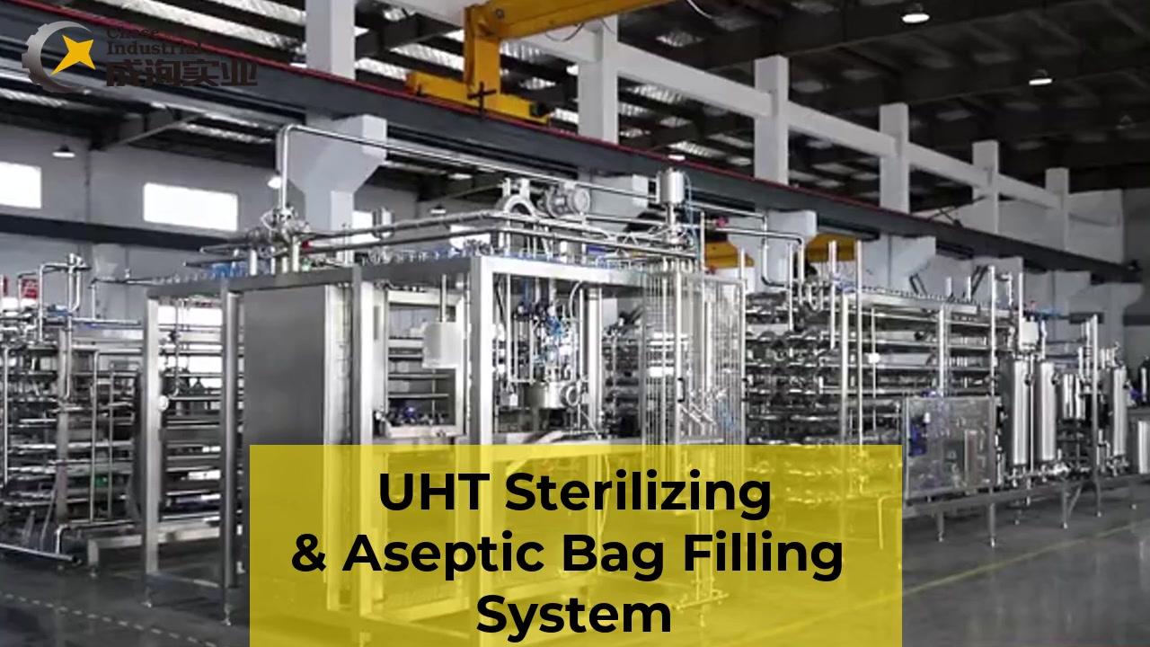 Professioneller UHT-sterilisierender und aseptischer Füllsystem Hersteller