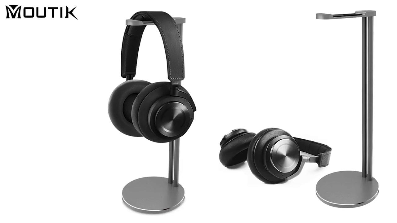 2021 Kiváló minőségű alumínium ötvözet stabil 6 színű fejhallgató állvány fülhallgató állvány tartó