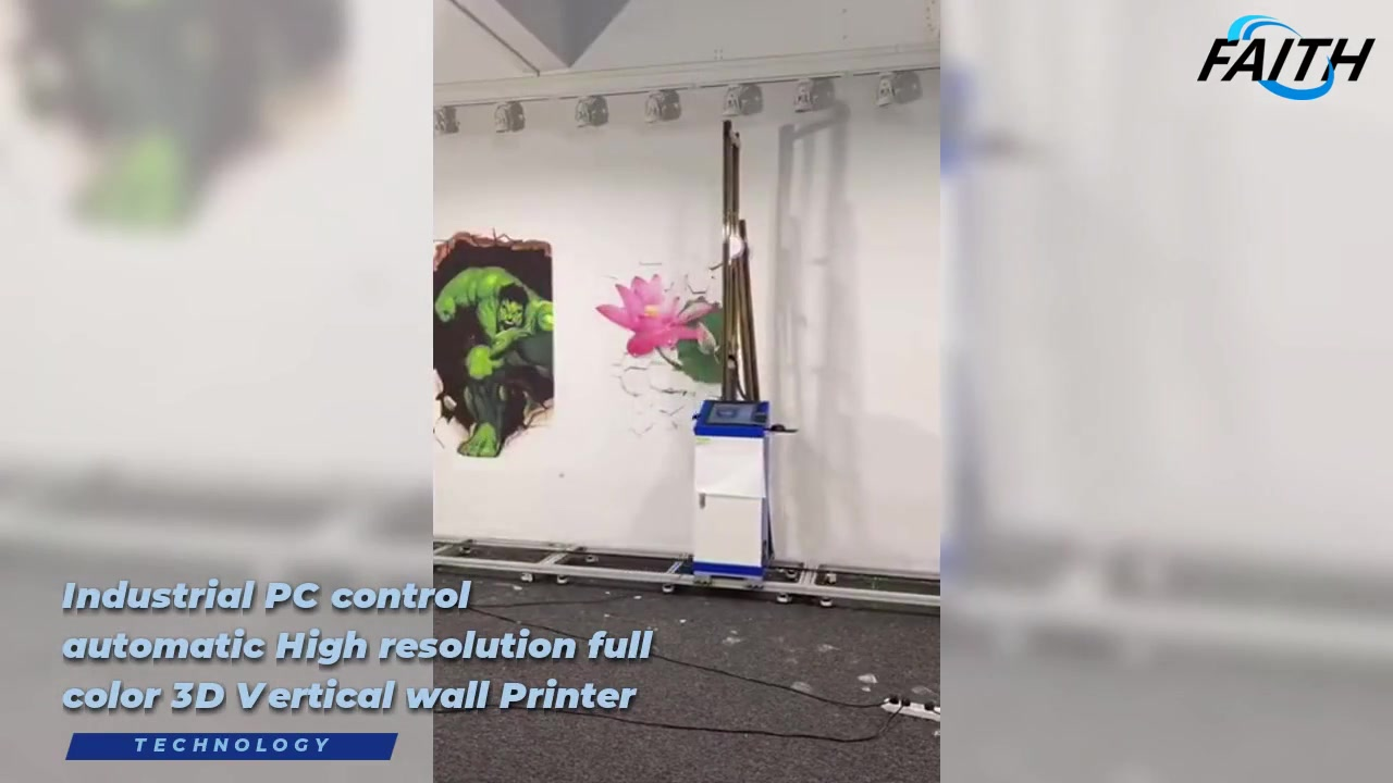 Faith 3D Automatic Vertical Wall Printer  | Faith