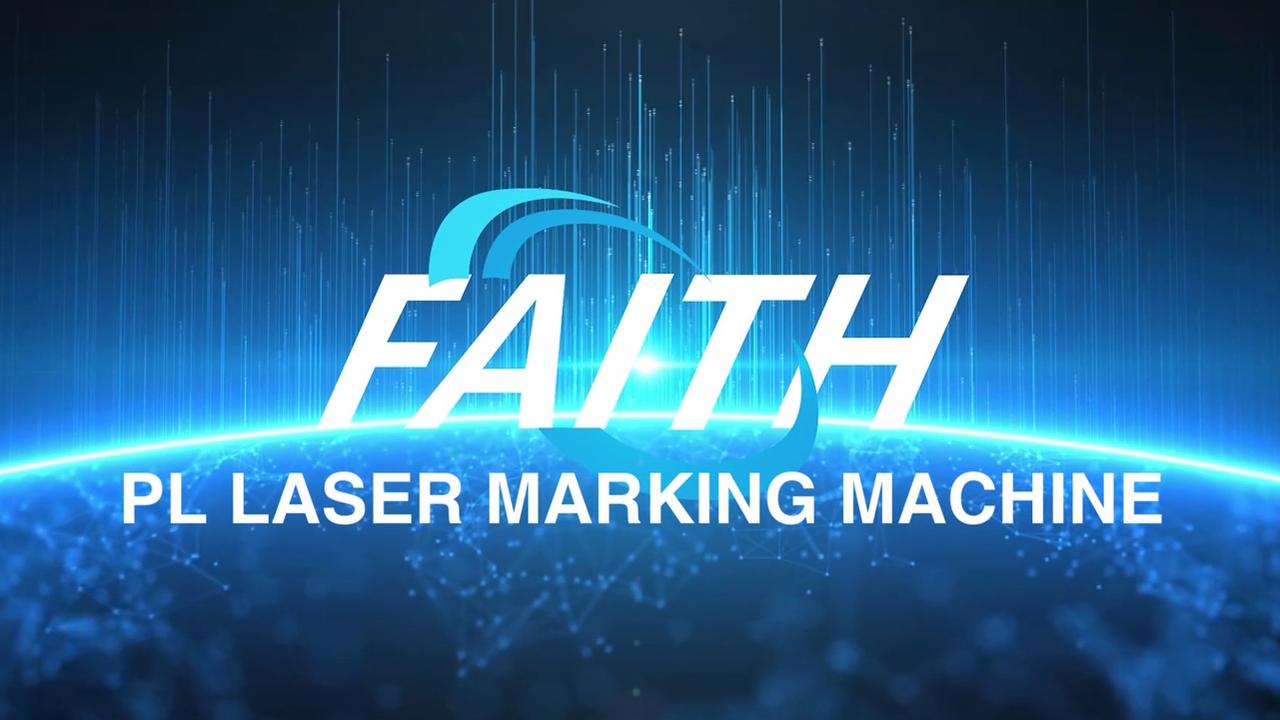 PL100 Máquina de marcação do laser da fibra do raycus de 20W 30 W 50W de Laser | Fé