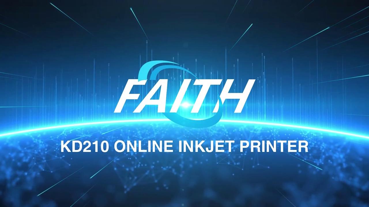 KD210 Fecha de caducidad en línea Estampado de vidrio Máquina de codificación de impresión | Fe