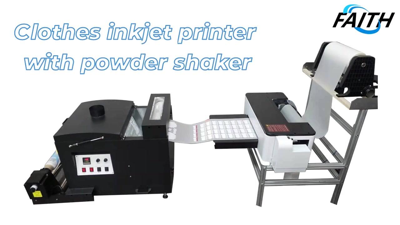 Одежды принтер с порошковым шейкере: полное руководство