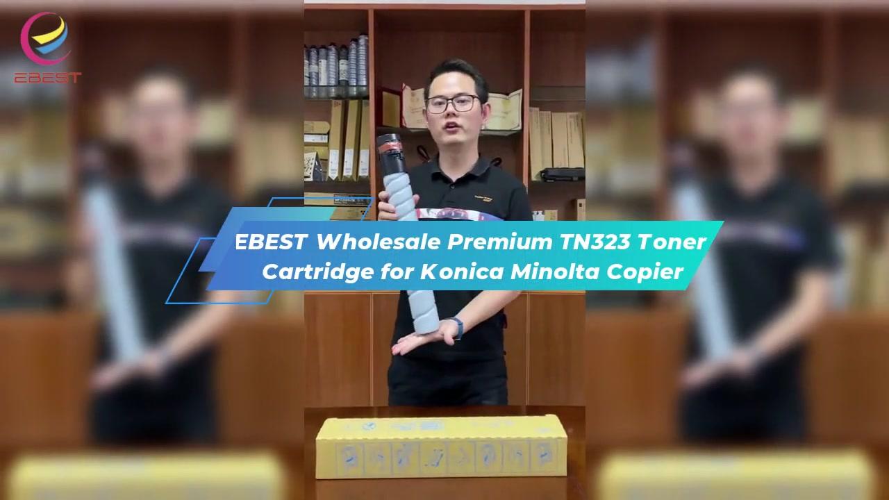 Ebest ขายส่งพรีเมี่ยม TN323 หมึกสำหรับเครื่องถ่ายเอกสาร Konica Minolta