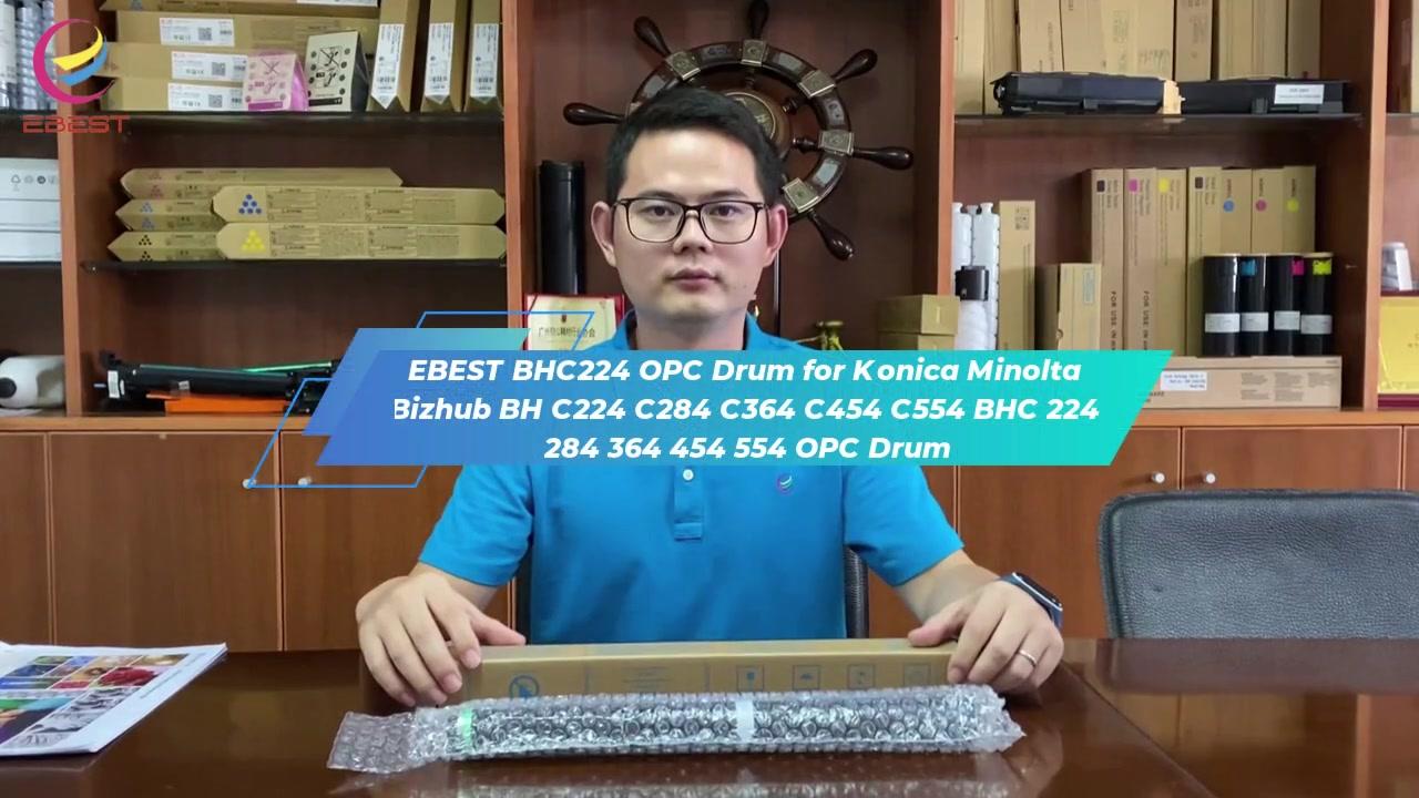 Ebest untuk KONICA MINOLTA BIZHUB BH C224 C284 C364 C454 C554 BHC 224 284 364 454 554 OPC drum