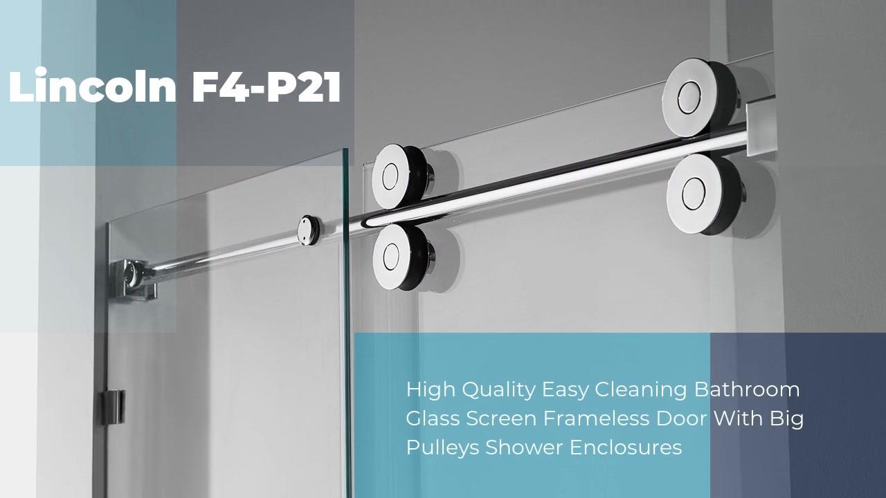 Gabinetes de chuveiro de vidro profissional Lincoln-F4-P21 Fabricantes