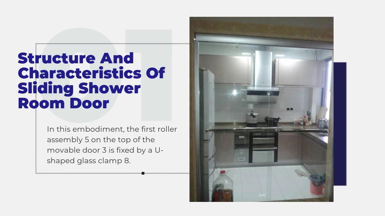 Structure et caractéristiques des portes de douche coulissantes