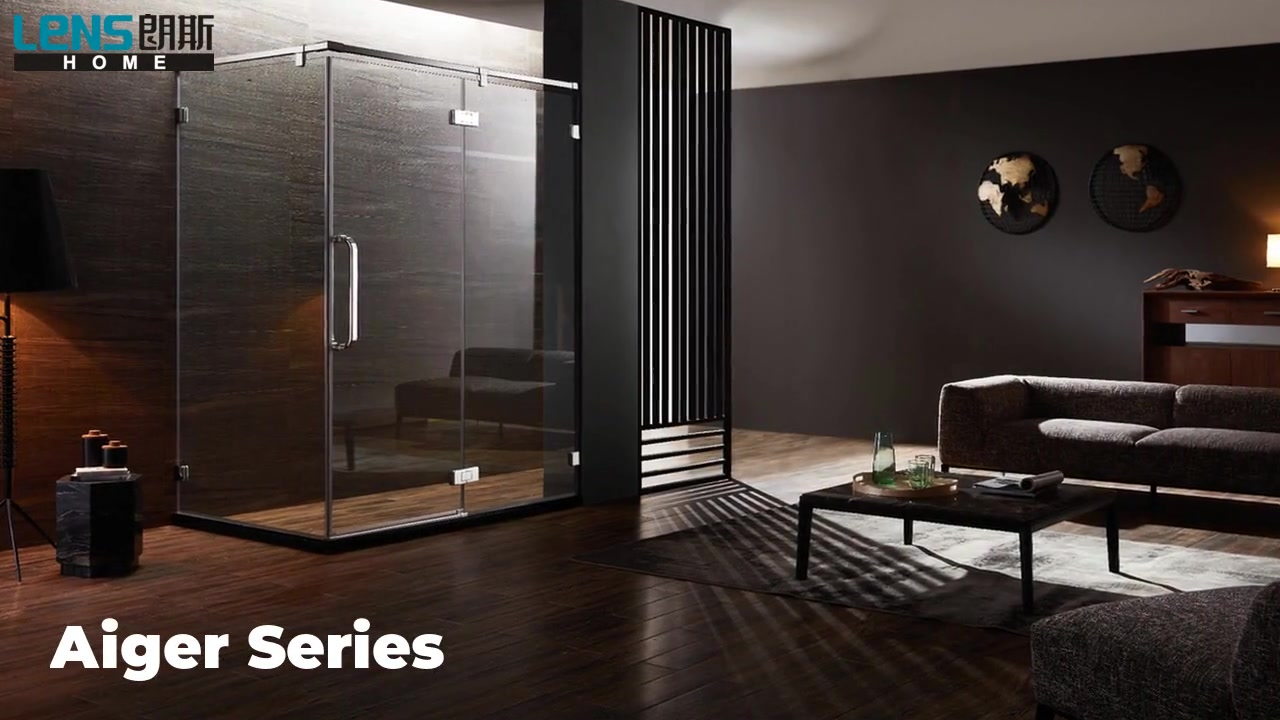 Classic Series  enjoy high quality more safety shower door