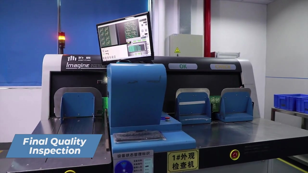 CAMTECH PCB Final Quality Inspection of Printed circuit board