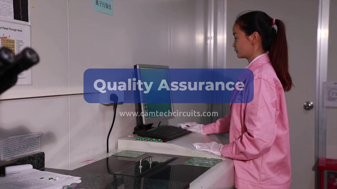 CAMTECH PCB Quality Assurance of PCB board