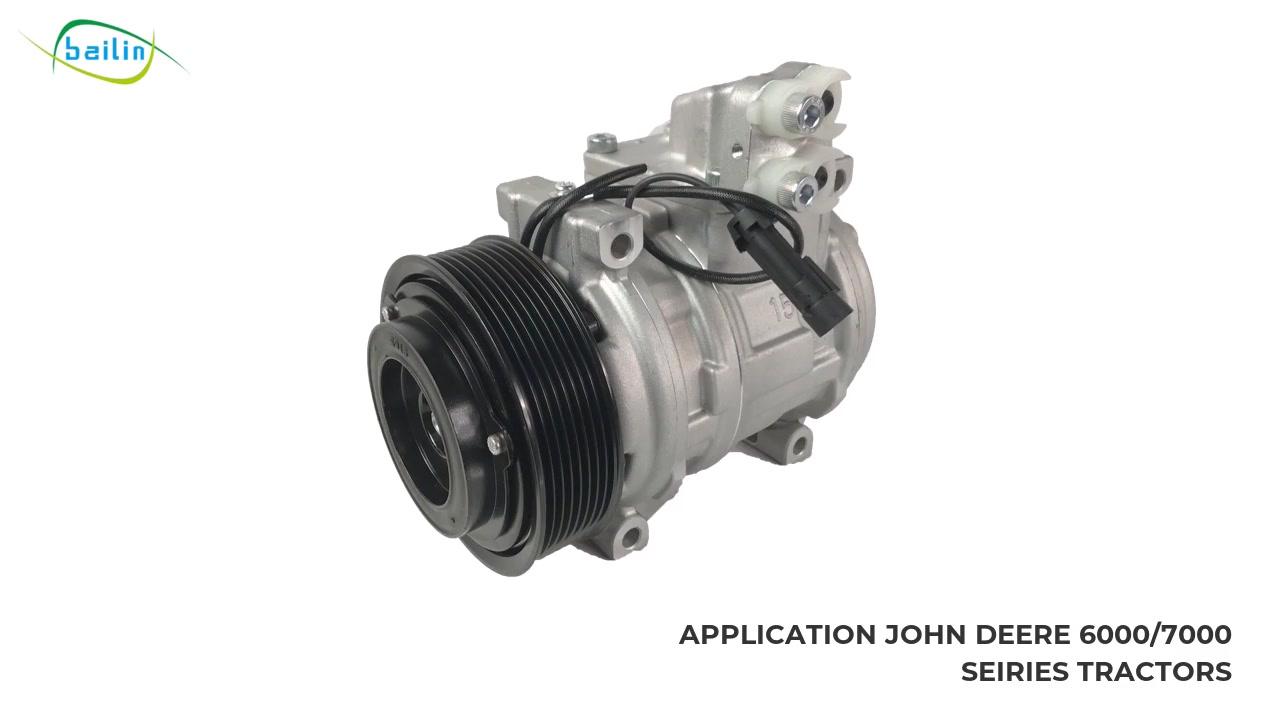 AL154203 / AL78779 / CO21012C Didara to gaju Auto ac Compressoor Fun JOHN DEERE 6000/7000 SEIRIES TRACTORS