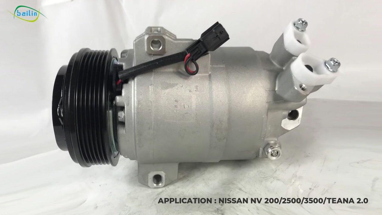 92600-JN30B visokokvalitetni Auto AC kompresor za Nissan NV 200 / 2500/3500 / Teana 2.0