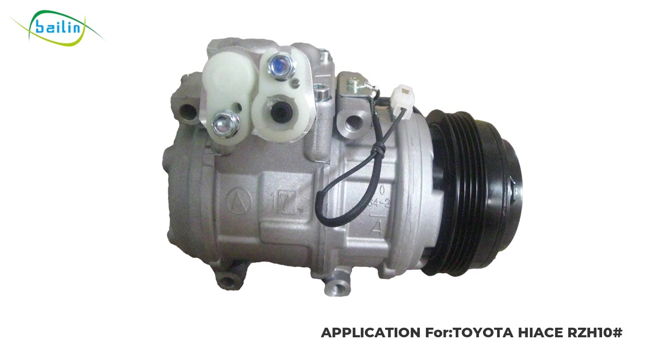 High quality Auto ac Compressoor For TOYOTA HIACE RZH10#