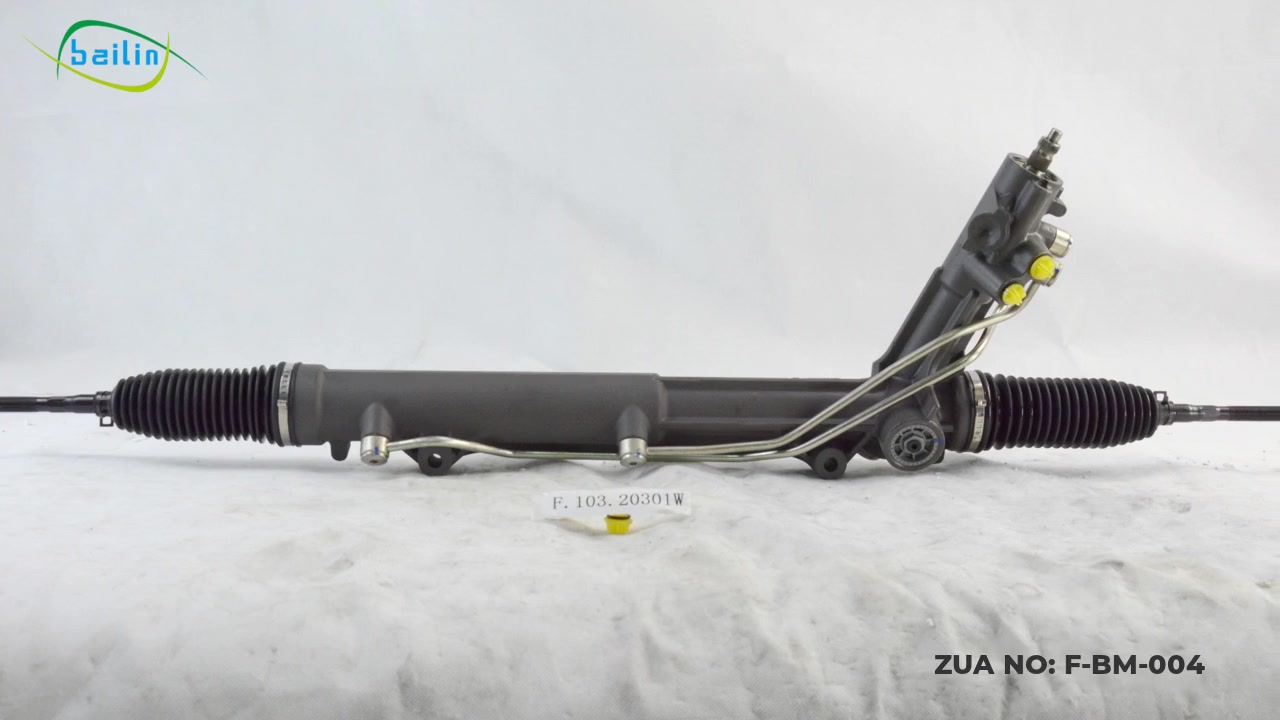 32136751027/32106763342/32136761823 ZUA Brand High Quality Hydraulic Power Steering Rack&Pinion For BMW X5 E53