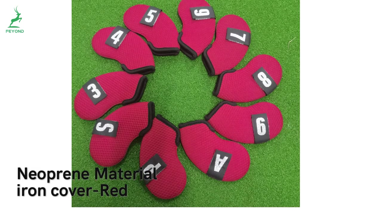 HighQuality Golf iron head cover Wholesale-深圳市飞羊运动用品有限公司
