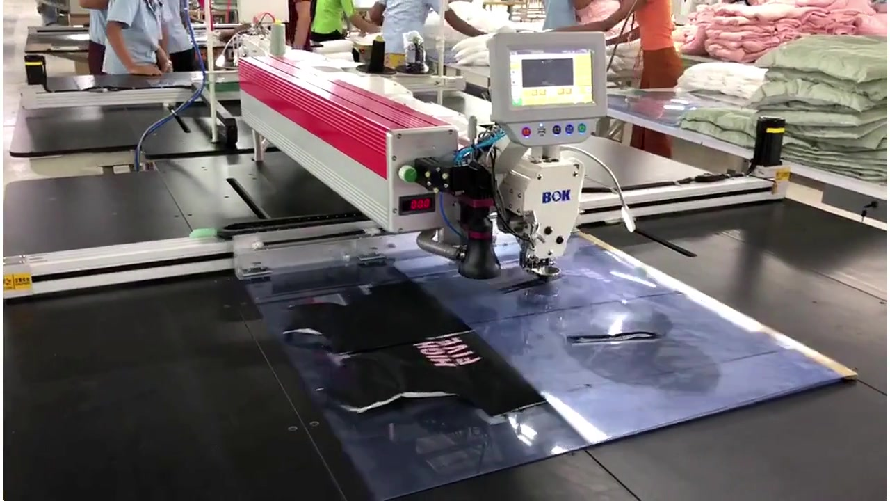 Template Sewing Machine use for zipper and pocket  | Zneng
