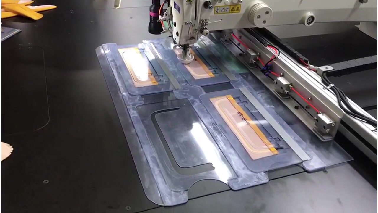 China Collar sewing by template sewing machine manufacturers-