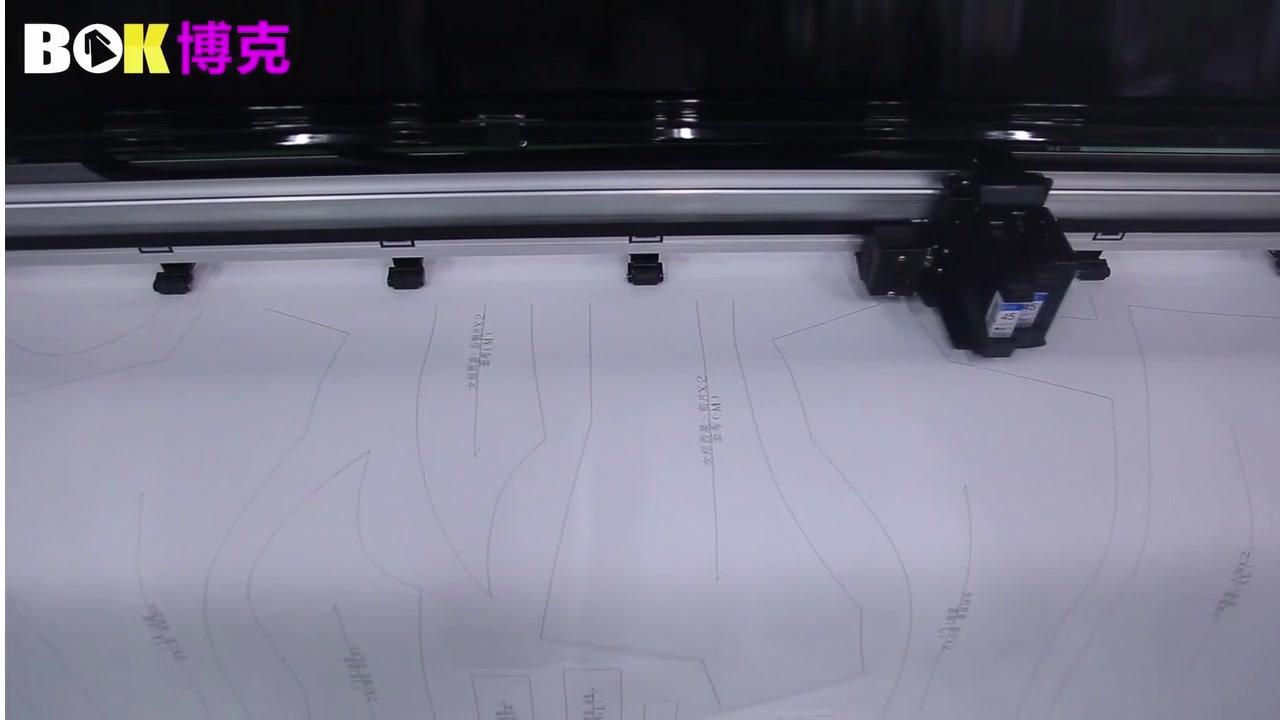 백서 용 잉크젯 플로터 및 커터 기계