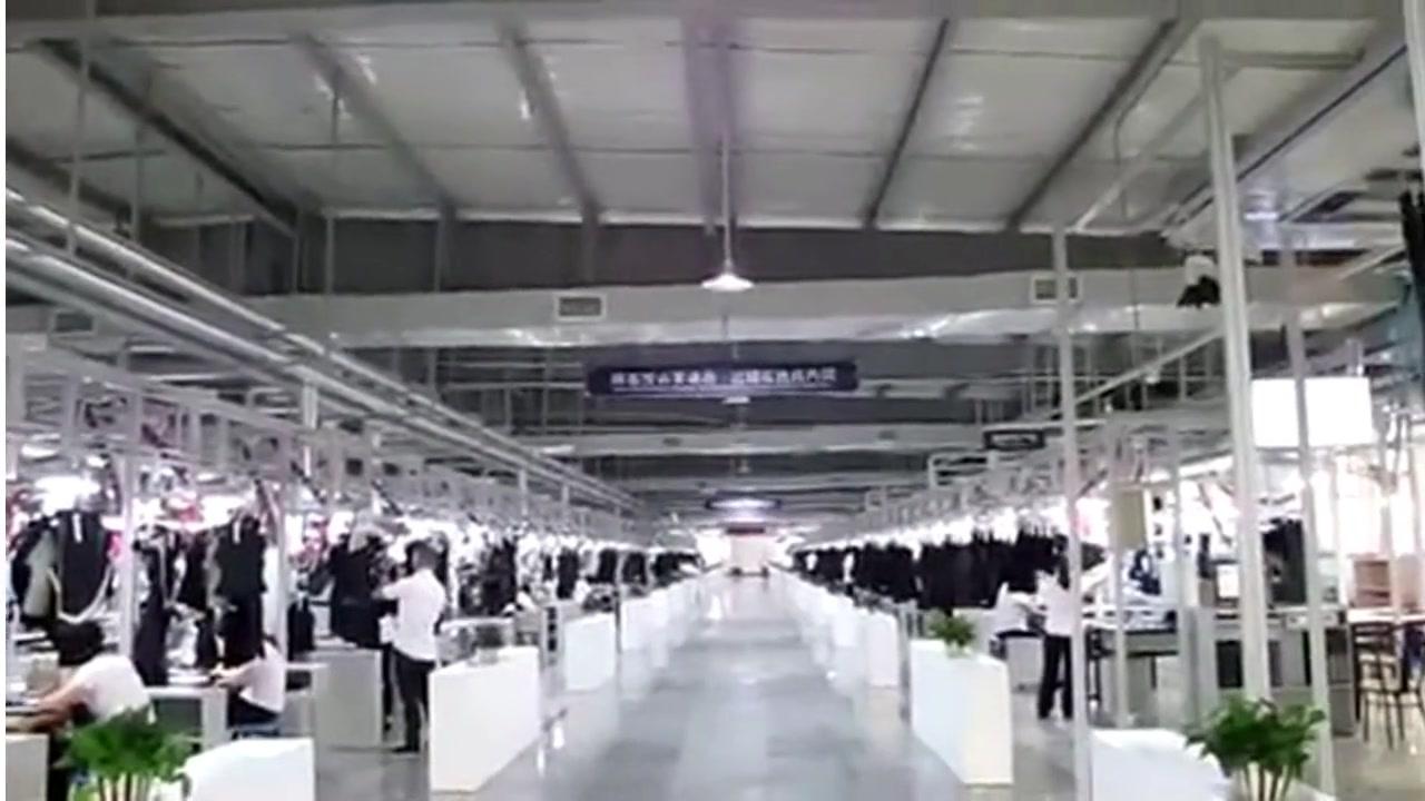 Sistem gantung cerdas di pabrik