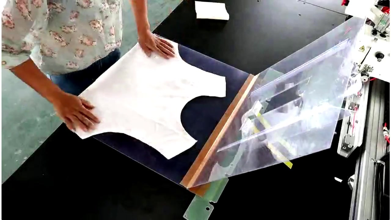 Template Sewing Machine use for placket